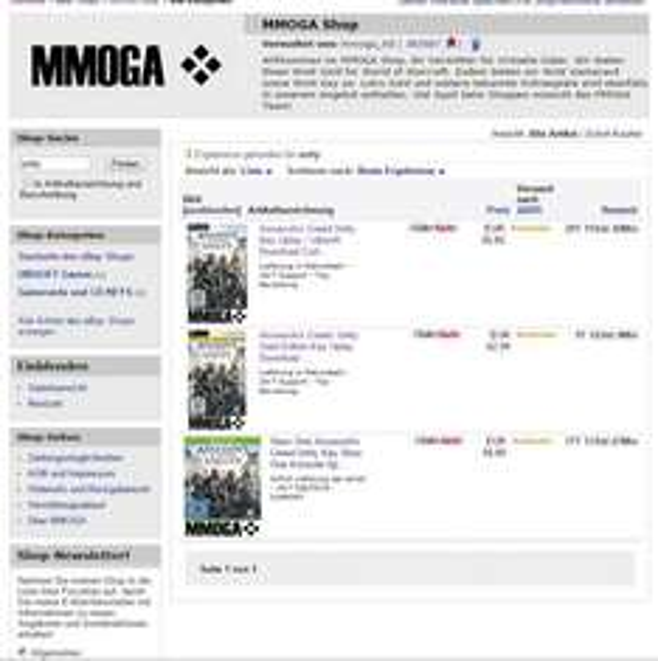 Assasins Creed Unity Key + Gold Version bei MMOGA Ebay [PC]