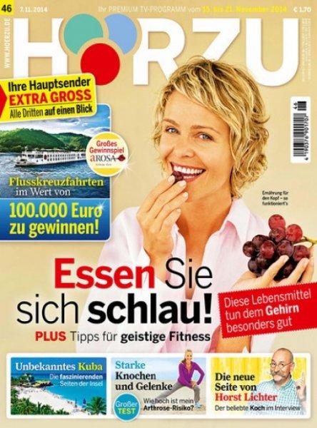 KNALLER ! Programmzeitschrift Hörzu durch Gutschein und einen 95,- Euro Amazon Gutschein effektiv 41,87 Euro Gewinn!