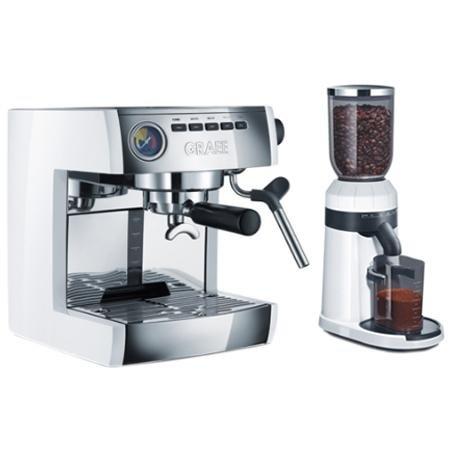 Graef ES 86 EU Set (Siebträgermaschine ES 86 + Kaffeemühle CM 81) Espresso-Einsteigerset für 319,- € @Redcoon