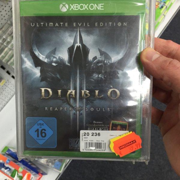 Diablo xbox one