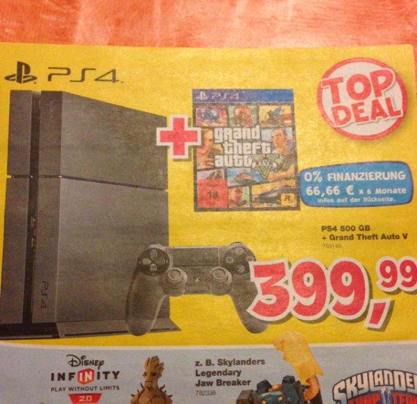 PlayStation 4 Bundle GTA V