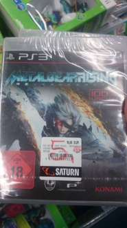 [Saturn Solingen] Metal Gear Rising: Revengeance (uncut) PS3 / Xbox360