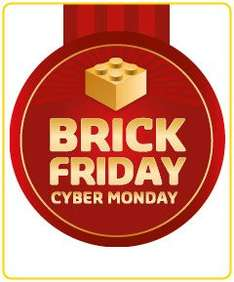 Brick Friday Cyber Monday!  28. November bis 1. Dezember 2014