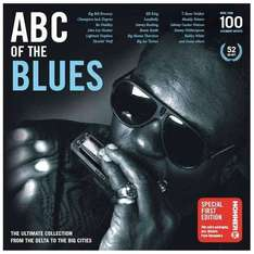 ABC Of The Blues: From The Delta To The Big Cities !!! 52 CD !!! Box für 29,99€