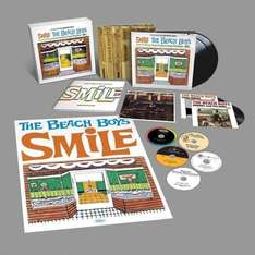 """The Beach Boys: The Smile Sessions (Collector's Edition 5CD + 2LP + 2 7""""es) für 69,99€ statt 159,99€"""