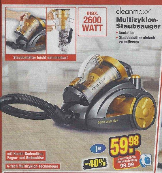 Clean maxx staubsauger netto