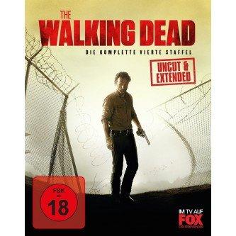 [Blu-ray]  The Walking Dead - Die komplette vierte Staffel (Uncut & Extended, 5 Discs) @ Müller