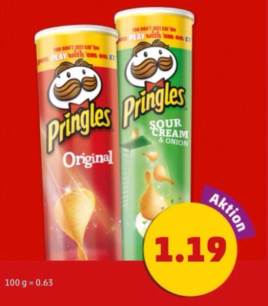 Pringles am Freitag und Samstag bei Penny (evtl. lokal)