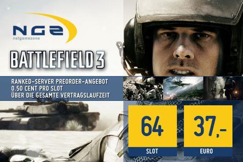 Ranked Battlefield 3 Server bis 64 Spieler (0,5€ pro Slot) - Hoster: NGZ