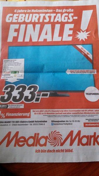 (lokal Holzminden Media Markt) Telefunken D48F275R3c 48 Zoll für 333 Euro