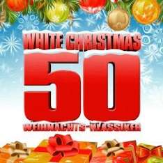 Amazon  Sampler [MP3] White Christmas - 50 Weihnachtsklassiker Nur 3,89 €