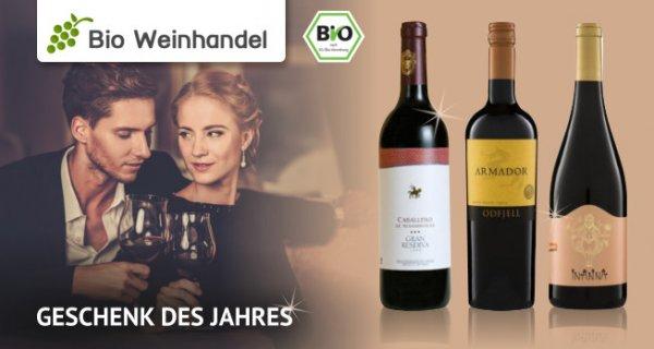 Bio Weinhandel: 11,10 EUR sparen auf Bio-Weine, Glühwein und Co