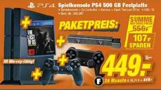 [LOKAL] PS4 500GB + The Last Of Us remastered + 2. Controller + Kamera für 449€ @TeVi Nürnberg bis 19.11