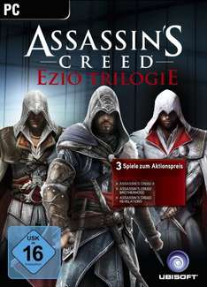 (U-Play) Assassin's Creed - Ezio Trilogie für 8,97 EUR @ Amazon.de
