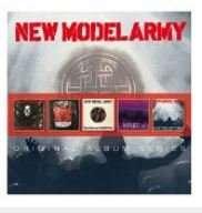 New Model Army 5er CD BOX für 9,99 € bei Saturn Online