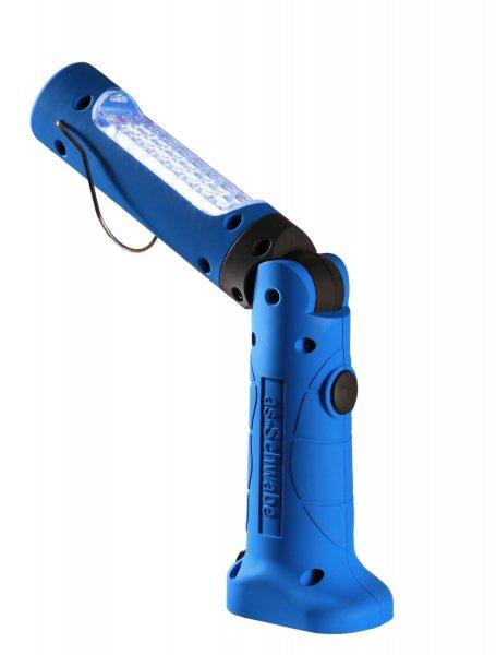 [3% Qipu] as - Schwabe LichtFabrik LED-Akku Handlampe (550-650 Lux / 1m) EVO3, blau, 42801 für 39,90€ frei Haus @DC