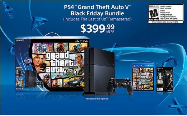 Playstation 4 + GTA 5 + The Last of Us Remastered @Amazon.com Black Friday (28.Nov)