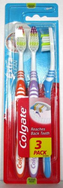[Coupies][Rossmann] bis 23Uhr 3er Pack Colgate Zahnbürsten nur 45ct oder 49ct
