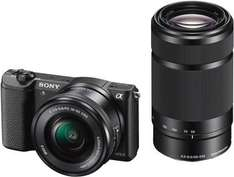 Sony Alpha 5100 Systemkamera Kit inkl. 16-50 mm + 55-210 mm Objektive (ILCE5100YB) für 655,45 € @Amazon.fr