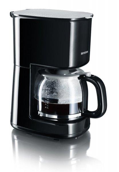 [3% Qipu] Severin KA 4213 Kaffeeautomat bis 10 Tassen 1000 W, schwarz-grau für 14,99€ frei Haus @Voelkner