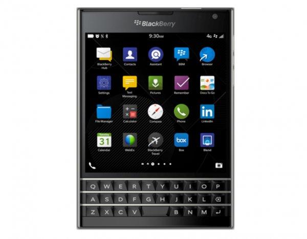 BlackBerry Passport für 19,99€  insg. ca. 630€ Sparhandy