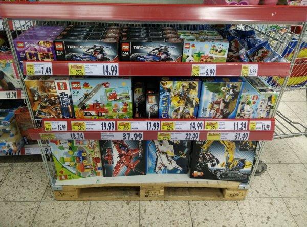 kaufland hildesheim verschiedene Lego Artikel 20 -50% rabatt