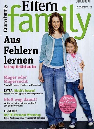 """12 Ausgaben """"Eltern Family"""" für 38,30 Euro mit 30 Euro Amazon Gutschein"""
