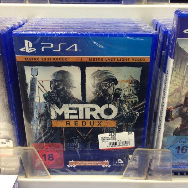 [Lokal] Berlin Media Markt Kaufpark Eiche PlayStation 4 Metro Redux (2033, Last Light) PS4