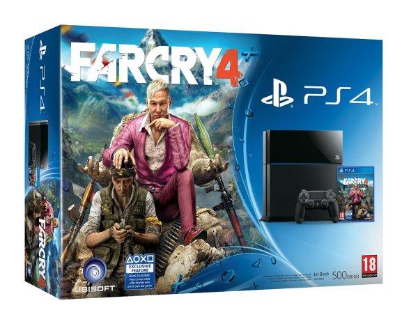 Sony Playstation 4 / PS4 + Far Cry 4 (Bundle) inkl. Vsk für 396,20 € > [amazon.es]