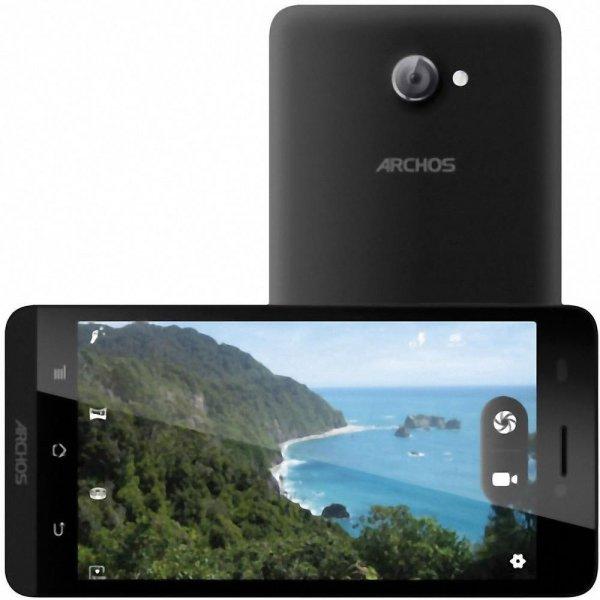 Archos 50b Helium LTE Dual-SIM (5 Zoll) 1.2 GHz Quad Core, 8 MP, Android 4.4.4 für 142,49€ @Conrad