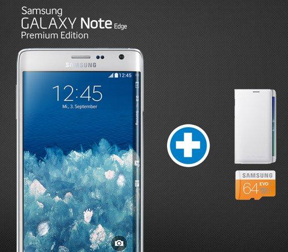 Samsung Galaxy Note Edge für 899,00 Euro vorbestellbar