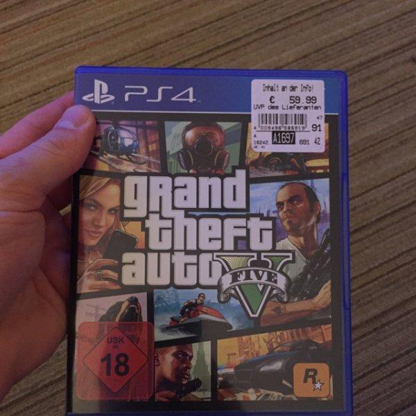 [Lokal Hannover?] GTA V PlayStation 4 für 59,99€