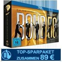 James Bond: Jubiläums-Collection auf Blu-ray für 89 Euro inkl. Cinema-Jahresabo