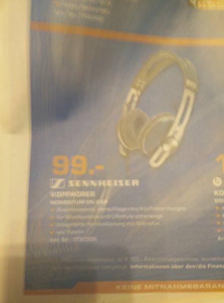 [Lokal Oldenburg - Saturn] Sennheiser Momentum On-Ear (abgebildet: blau)