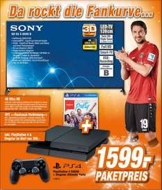 [LOKAL Expert Garbsen] [NUR NOCH HEUTE] Sony KD 55 X 8505 B + Playstation 4 + Singstar Ultimate Party