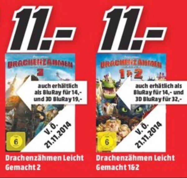 [Lokal Media Mark Bonn] Drachenzähmen leicht gemacht 2 3D Blu Ray