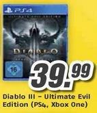 [lokal FloraPark MediMax Magdeburg] Diablo 3: PS4 / Xbox 360 für 39,99