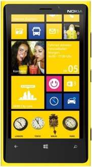 Nokia Lumia 920 32GB Gelb - 169,95€ - 4,5 Zoll Windows Phone - B-Ware