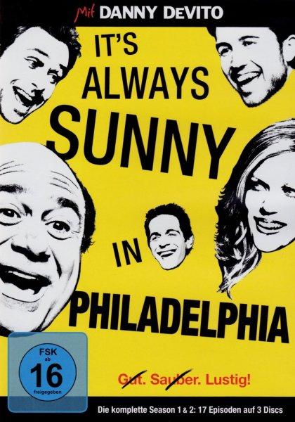 It's Always Sunny in Philadelphia - Season 1+2 [3 DVDs] 5,83 ( Prime)