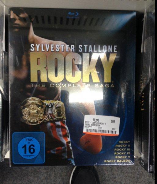 Rocky 1-6 - The Complete Saga [Blu-ray] Lokal (MM Heidelberg)