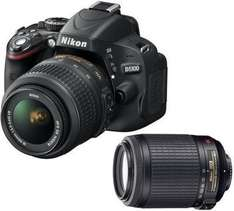 Nikon D5100 Kit 18-55 mm + 55-200 mm für 503,99 € @Saturn.de