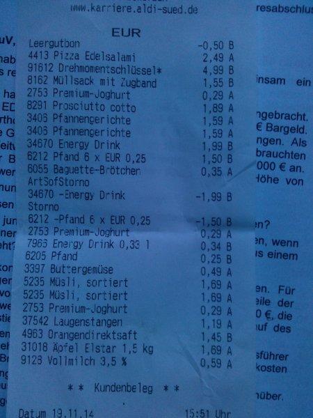 [LOKAL Karlsruhe] Qualitäts- Drehmomentschlüssel  Aldi 4.99 €
