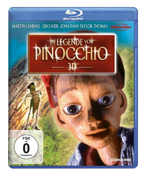 Die Legende von Pinocchio [3D Blu-ray] - amazon.de - für Prime-Kunden 7,97 Euro