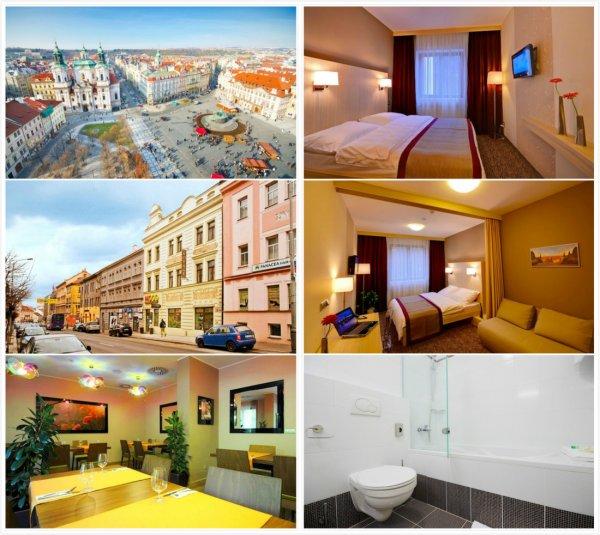 [Groupen] Prag: 2 bis 5 Tage für Zwei mit Frühstück und Welcome Drink im 4* Hotel Voyage ab 36 €