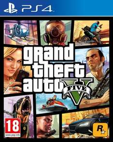 Gta V PS4 für 51,23€  Amazon.fr