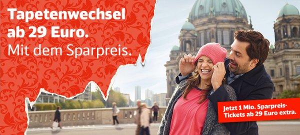 Deutsche Bahn hat 1 Million mehr Spartickets
