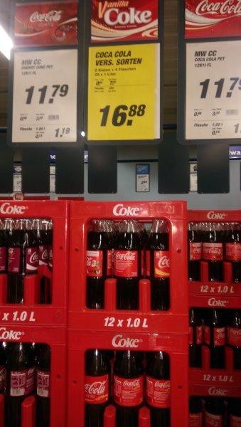 Coca Cola (Fanta, mezzo) 28X1L für 16.88 zzgl Pfand (1Flasche =0.60€)(Toom Getränken Markt) [evtl nur lokal Elsenfeld]