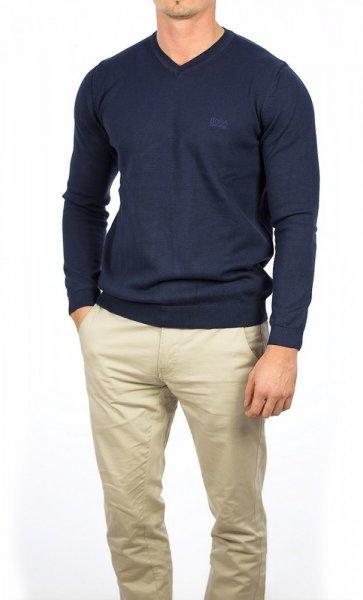 HUGO BOSS Pullover klassisch in verschiedenen Farben