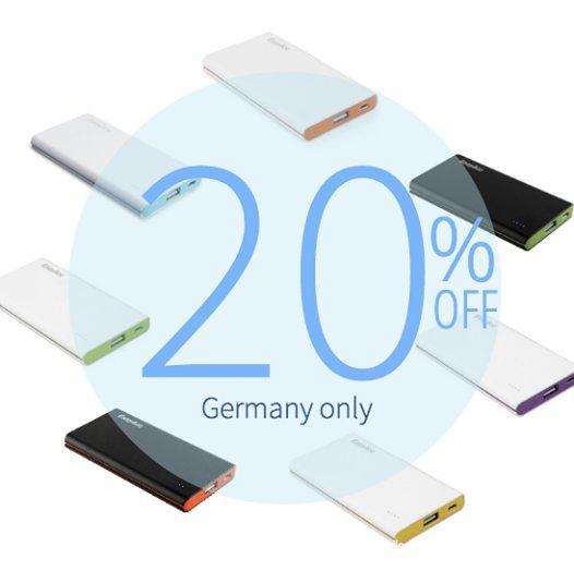 [Amazon] 20% Rabatt auf EasyAcc® 10000mAh PowerBank (ab 18,39€ inkl. Versandkosten)
