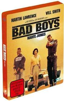 Bad Boys - Harte Jungs (Steelbook) Blu-ray für 9,99€ @Saturn